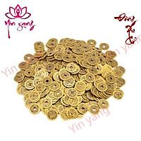 Đồng Tiền Xu Cổ 2.4cm- Xu Gieo Quẻ- Combo 10 Xu- Yinyang Shop cao cấp, chất lượng