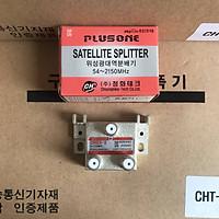 Bộ Chia 2 CHSS [PLUSONE - Hàn Quốc] Chia Chảo, Truyền Hình Cáp, Anten KTS - HÀNG CHÍNH HÃNG
