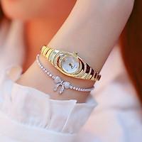 Đồng hồ thời trang nữ B1s dây kim loại dạng lắc tay. mặt kính cứng cao cấp - không kèm vòng tay