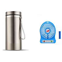 Bình giữ nhiệt 1000L tặng kèm quạt điều hòa mini (màu ngẫu nhiên)