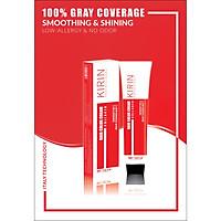 Kem nhuộm tóc collagen kirin (7/1 - Màu nâu khói) - Nhuộm thời trang màu nâu khói