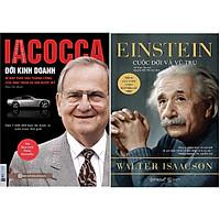 Combo Bài Học Thành Công Từ Những Con Người Đặc Biệt ( Iacocca - Đời Kinh Doanh + Einstein - Cuộc Đời Và Vũ Trụ ) tặng kèm bookmark Sáng Tạo
