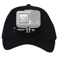 Mũ lưỡi trai gắn DJI OSMO Action Puluz Ver.2 chốt cố định - Hàng chính hãng