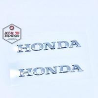 tem chữ Honda dán xe máy HÀNG ZIN CỰC ĐẸP  1 CẶP