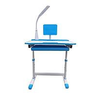 Combo Bộ bàn ghế học sinh chống gù, chống cận kèm quà tặng bao gồm đèn led 3 chế độ K02