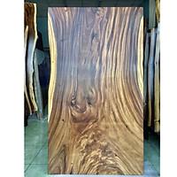 Mặt bàn gỗ me tây nguyên tấm rộng 103cm dài 188cm bền đẹp