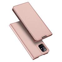 Bao da dành cho Samsung Galaxy M51 Dux Ducis Skin Pro Cao Cấp - Hàng Chính Hãng