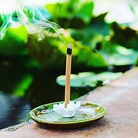 Phụ kiện đế cắm sứ dùng cho trầm hương Hoàng Giang