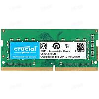 RAM LAPTOP CRUCIAL DDR4 8GB (1X8GB) BUS 2400MHZ SODIMM – CB8GS2400 - Hàng chính hãng