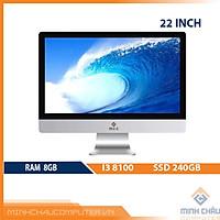 Bộ PC All in ONE (AIO) MCC8182 Home Office Computer CPU i3 8100/ Ram8G/ SSD240G/ Wifi/ Camera/ 22inch[Chính hãng]