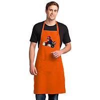 Tạp Dề Làm Bếp In Hình Hoạt Hình Siêu Nhân Mari0 - Mẫu023