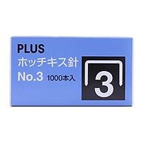 Bộ 2 Kim Bấm No 3 Plus SS-003 (30-155)