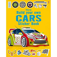 Usborne Build your own Cars Sticker book