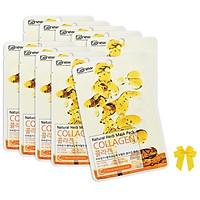 Mặt nạ collagen Benew Hàn quốc (22ml/gói) COMBO 10 LÁ và nơ
