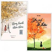 Combo Tiểu Thuyết: Hồng Hạnh Thổn Thức + Yêu Anh Hơn Cả Tử Thần (Tái Bản) - Tặng Bookmark Happy Life