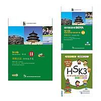 Combo Tiếng Trung Sơ cấp 2 - HSK 3 ( Giáo trình Hán ngữ BOYA - Sơ cấp 2 + Giáo trình Hán ngữ BOYA sơ cấp – tập 2 sách bài tập kèm đáp án + Bộ đề luyện thi năng lực Hán Ngữ HSK 3 - Tuyển tập đề thi mẫu)