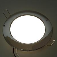 Chrome RV Boat Recessed Ceiling Light LED Panel Light 12V 4.5W Neutral White