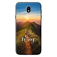 Ốp Lưng Dành Cho Samsung Galaxy J3 Pro/ J7 Pro - Mẫu Plus Find The Way