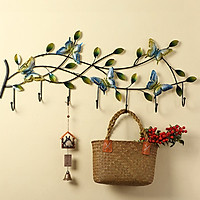 Móc treo đa năng hoa bướm decor trang trí tường