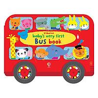 Sách tương tác tiếng Anh - Usborne Baby's Very First Bus book