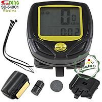 Đồng hồ tốc độ xe đạp - Đổng hồ Sunding SD-548C1 không dây wireless