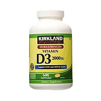 Viên uống bổ sung vitamin Kirkland Signature Extra Strength Vitamin D3