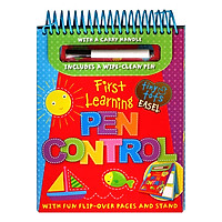 Tiny Tots Easel First Learning : Pen Control (Includes a wipe-clean Pen)