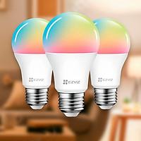 Bóng đèn led thông minh Ezviz 16 triệu màu điều khiển từ xa qua điện thoại tích hợp với Google và Alexa điều khiển bằng giọng nói Hàng chính hãng phân phối