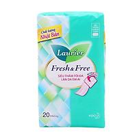 Băng Vệ Sinh Laurier Fresh & Free Siêu Mỏng Cánh - 20 Miếng