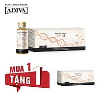MUA 1 TẶNG 1- Mua 1 Hộp Collagen ADIVA (14 chai x 30ml) +Tặng 1 Hộp Collagen ADIVA (14 chai x 30ml)