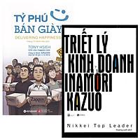 Combo Tỷ Phú Bán Giày + Triết Lý Kinh Doanh Của Inamori Kazuo (Bộ 2 Cuốn)