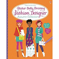 Usborne Sticker Dolly Dressing Fashion Designer Autumn Collection