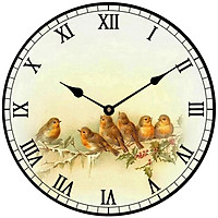 Đồng hồ treo tường phong cách cổ MS 36