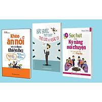 Sách: Khéo Ăn Nói Sẽ Có Được Thiên Hạ + Hài Hước Một Chút Thế Giới Sẽ Khác Đi + Sức Hút Của Kỹ Năng Nói Chuyện