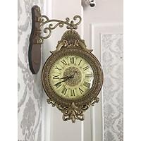 Đồng Hồ Treo Tường xoay 360 độ DHTT20 ( kích thước :35 x60 cm ) Thiết kế đồng hồ xoay thông minh có thể xem giờ được ở cả 2 mặt.