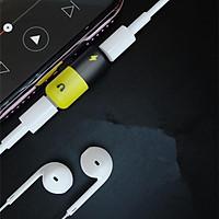 Bộ Chuyển Đổi Tai Nghe 2 Trong 1 Cho Iphone X Xr Xs Max 7 8 Plus 8plus 7plus