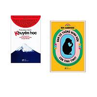 Combo 2 cuốn sách: Khuyến học   + Bạn có thông minh hơn con tinh tinh
