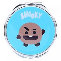 Gương BT21 hình Shooky( 2 mặt)