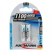 Pin Sạc AAA 1100 BL2 ANSMANN vỉ 2 viên - Hàng Nhập Khẩu