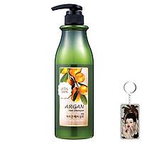 Dầu gội đầu Confume Argan Oil Hair tinh chất thảo dược Hàn Quốc 750ml + Móc khóa