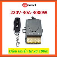 Bộ điều khiển từ xa bật/tắt động cơ máy bơm, thiết bị điện...công suất cao 100m/3000W/220V Togismart DK100 - HÀNG CHÍNH HÃNG