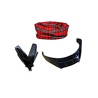 Combo Sừng + Đuôi gió gắn Mũ Bảo Hiểm + Tặng kèm khăn đa năng màu ngẫu nhiên