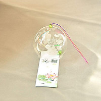 Chuông gió bạch liên furin Nhật Bản xinh xắn pha lê tặng ảnh Vcone