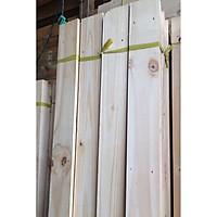 Bó 5 thanh gỗ ghép tự nhiên dài 40cm, rộng 10cm, dày 1,7cm