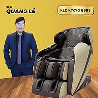 Ghế massage KLC KYKYO 6688 - Massage toàn thân, điều khiển bằng giọng nói, công nghệ không trọng lực, nhiệt hồng ngoại..