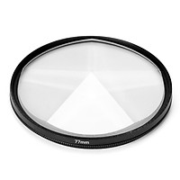 Camera Filter Photography Foreground Blur Film Photography Props 77mm Glass Pentaprism Filter Camera Accessories