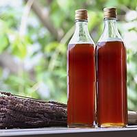 Bộ 2 chai thủy tinh vuông nắp nhôm vàng 500ml, dùng đựng mật ong, nguyên liệu pha chế
