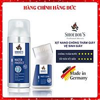 Combo xịt chống thấm cho giày + kem vệ sinh giày Shoeboy's chính hãng nhập khẩu từ Đức (SB-BA4)