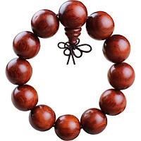Vòng tay gỗ đàn hương đỏ 10-12-15 ly VG09 (Giao mầu tự nhiên)