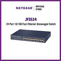 Bộ Thiết Bị Chia Mạng 24 Cổng Switch Netgear JFS524 Fast Ethernet Unmanaged 24 Port 10/100Mbps - Hàng Chính Hãng